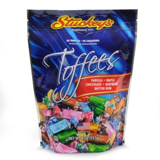 STU Toffee Asst 8 oz Bag