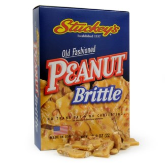 STU Peanut Brittle 6 oz Box