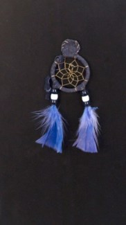 "SMALL DREAM CATCHER MAGNET, 1.5"", ASSORTED COLORS"