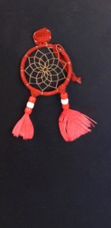 "LARGE DREAM CATCHER MAGNET, 2"", ASSORTED COLORS"