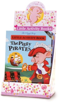 Little Activity Book Best Seller's Assortment  36 pcs. with Free Display