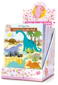 Doodle Pad Best Seller's Assortment 36 pcs. with Free Display