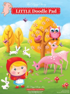 Doodle Pad - Little Rosy Red