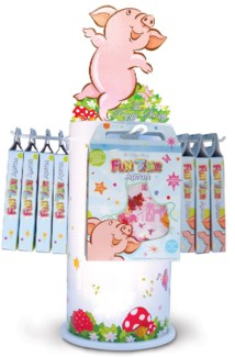 Fun Time Apron Best Seller's Assortment  24 pcs. with Free Display.