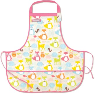 Fun Time Apron - Fox & Woodland Animals