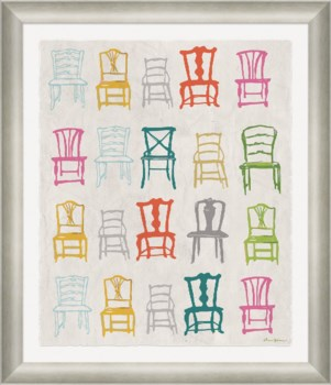 Painted Chairs in Multi