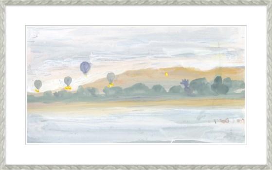 Hot Air Baloons Along Nile River, Egypt Sketchbook
