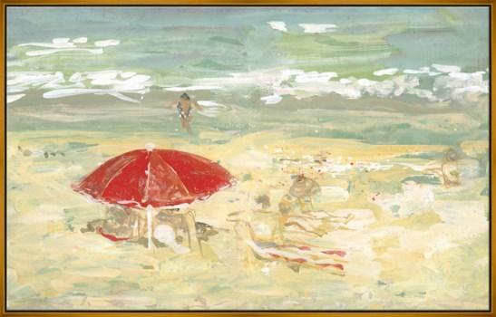 Beach Umbrella, Parivolia