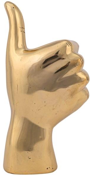 QS Thumbs Up, Brass