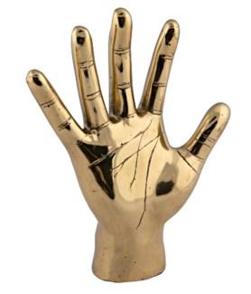 Open Hand, Brass