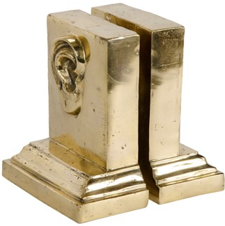 I Hear You Bookend, Brass