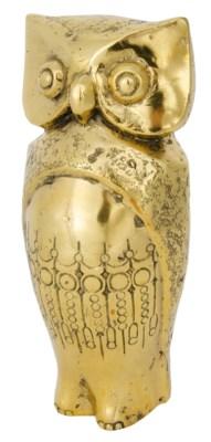 Owl, Brass