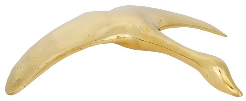 Goose, Large, Brass