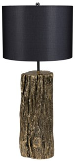 Soma Table Lamp w/ Shade, Solid Brass