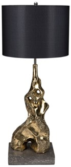 Inattentive Table Lamp w/ Shade, Solid