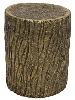 Brass Log Stool