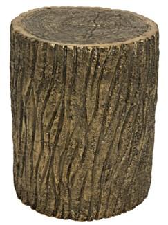 Brass Log Stool
