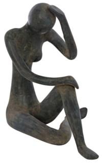 Ina Statue, Brass