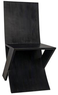 Tech Chair, Charcoal Black