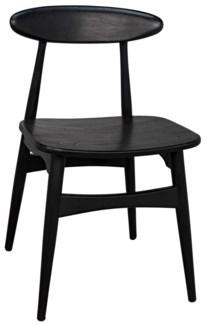 Surf Chair, Charcoal Black