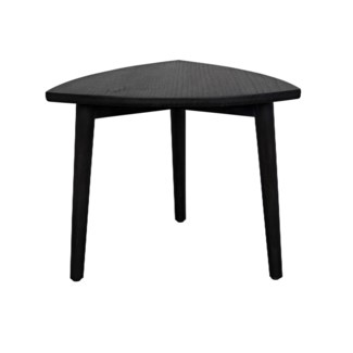 Small Reuleaux Coffee Table, Charcoal Black