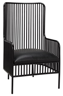 Lazarus Chair, A, Metal Finish
