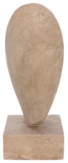 Edge Statue, White Marble
