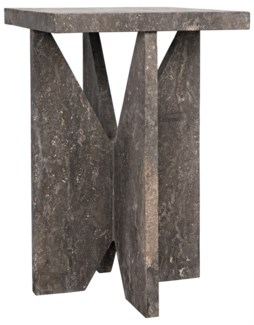 Colombo Table, Black Marble