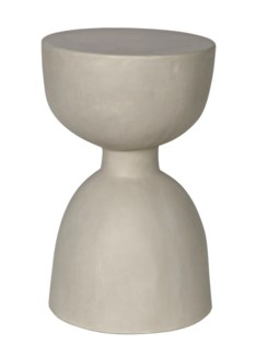 Hourglass Stool, Fiber Cement