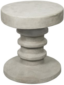 Gir Side Table, Fiber Cement
