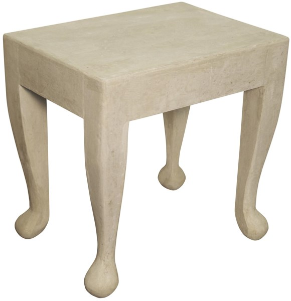 Hoof Side Table, Fiber Cement