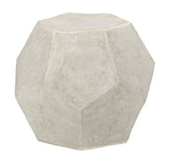 Geometry Side Table/Stool, Fiber Cement