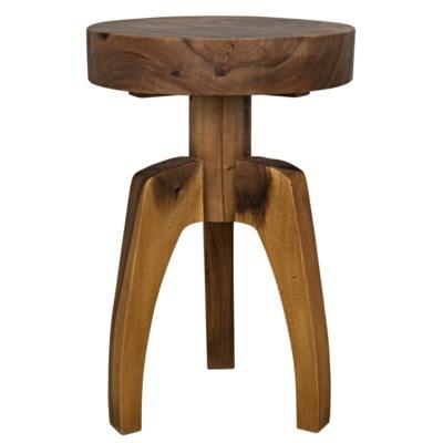 Troy Side Table, Munggur Wood