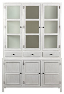 Colonial Hutch, White Wash