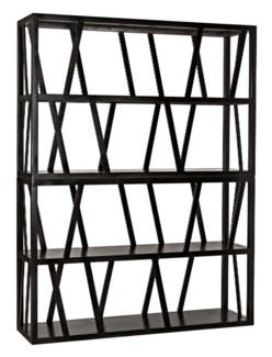 Colfax Bookshelf, Metal