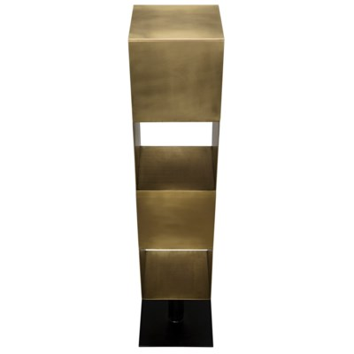 Tara Shelving, Antique Brass