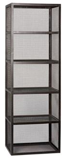 Perpendicular Bookcase, Metal