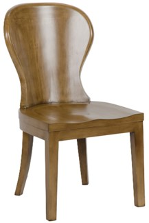 Cort Chair, Saddle Brown