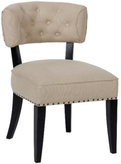 Alena Chair, Hand Rubbed Black