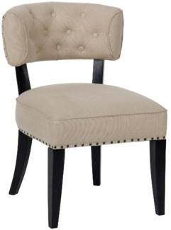 Alena Chair, Hand Rubbed Black