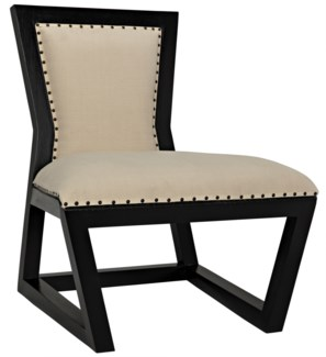 Rado Chair, Hand Rubbed Black