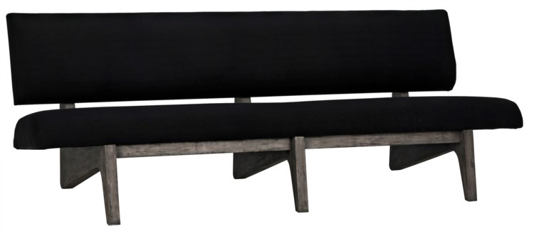 Bibi Bench, Distressed Grey