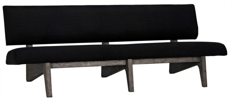 Bibi Bench, Distressed Grey