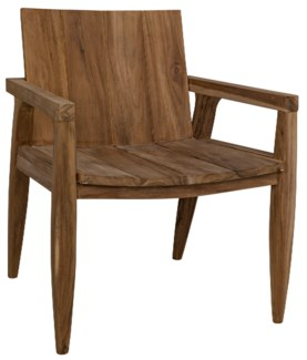 Bianca Arm Chair, Teak