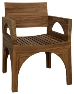 Jagger Arm Chair, Teak