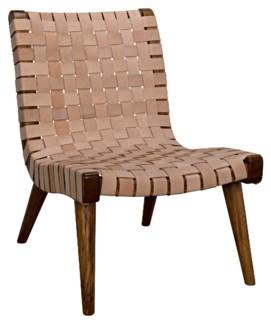 Cohen Chair, Teak & Leather