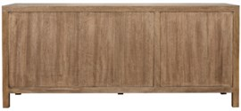 Qs 3 Door Quadrant Sideboard Washed Walnut Dressers