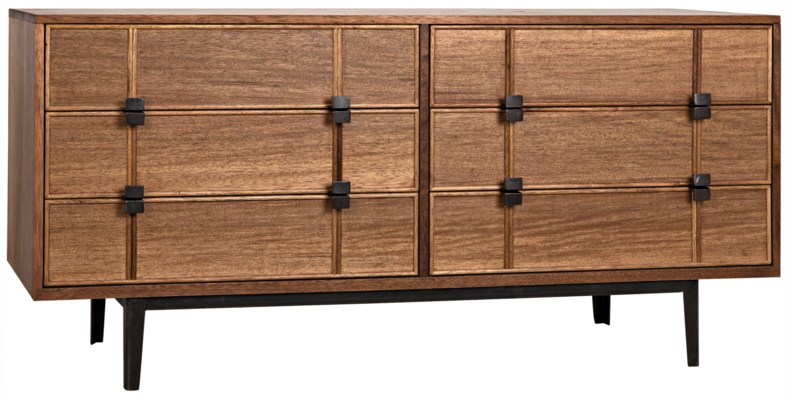 Bourgeois Sideboard, Walnut and Metal