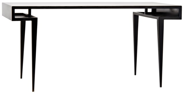 Stiletto Desk, Metal
