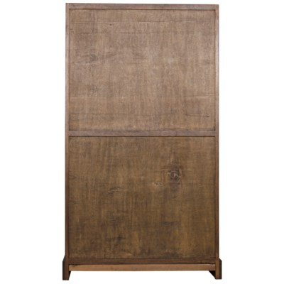 Bullseye Hutch, Dark Walnut